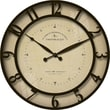 FirsTime® Kensington Whisper 18in. Round Wall Clock, Bronze