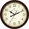 FirsTime® Avery Whisper 20in. Round Wall Clock, Bronze
