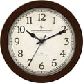 FirsTime® Bronze Whisper 11in. Round Wall Clock, Bronze
