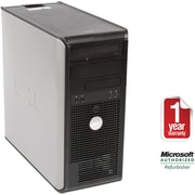 Refurbished Dell GX745, 250GB Hard Drive, 2GB Memory, Intel Core 2 Duo, Win 7 Home