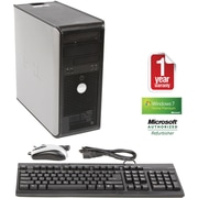 Refurbished Dell GX745, 500GB Hard Drive, 2GB Memory, Intel Core 2 Duo, Win 7 Home