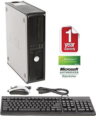 Refurbished Dell Optiplex 520, 160GB Hard Drive, 2GB Memory, Intel Pentium, Win 7 Home