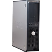 Refurbished Dell 760, 1TB Hard Drive, 4GB Memory, Intel Core 2 Duo, Win 7 Pro