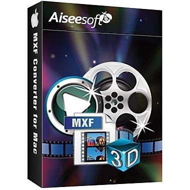 Aiseesoft – MXF Converter pour Mac (1 utilisateur) [Téléchargement]