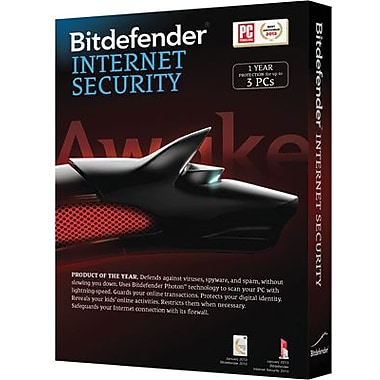 Bitdefender Internet Security 1 Year for Windows (1-3 Users) [Download]
