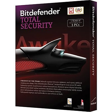 Bitdefender Antivirus Plus 1 Year for Windows (1-3 Users) [Download]