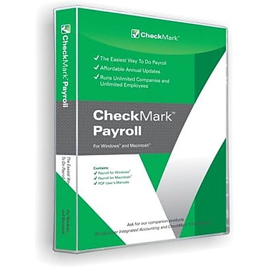 CheckMark Payroll for Windows/Mac (1 User) [Download]