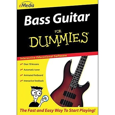 eMedia Bass Guitar For Dummies for Mac (1 User) [Download]