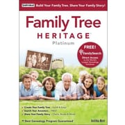 Family Tree Heritage Platinum 9 for Windows (1 User)
