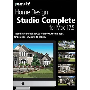 Encore Punch! Home Design Studio Complete v17.5 for Mac (1 User) [Download]