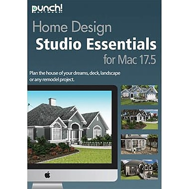 Encore Punch! Home Design Essentials v17.5 for Mac (1 User) [Download]