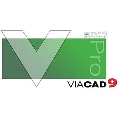 Encore Punch! ViaCAD Pro v9 for Windows (1 User) [Download]