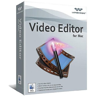 Wondershare Video Editor for Mac (1 User) [Download]