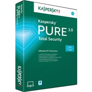 Kaspersky PURE 3.0 Total Security for Windows (1-3 User)[Boxed]