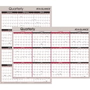 Visual Organizer 2015 Vertical/Horizontal Erasable Wall Planner, Jan.-Dec., Wall, 36 x 24
