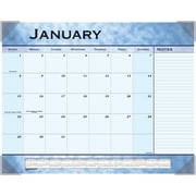 2015 AT-A-GLANCE® Slate Blue Desk Pad, 22 x 17