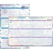 "2016 AT-A-GLANCE® Dreams Erasable Wall Calendar, 24"" x 36"", Design, (PM83-550)"