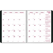 2015 Brownline® Duraflex Monthly  Planner, Durable Textured Poly Cover, Black,  8-7/8 x 7-1/8
