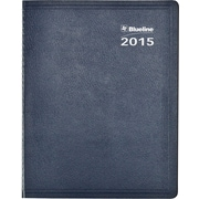 2015 Blueline® Net Zero Carbon™ Weekly Planner, Blue Softcover, 11 x 8-1/2