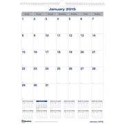 2015 Blueline® Net Zero Carbon™ Monthly Wall Calendar, 12 x 17