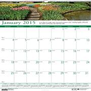 House of Doolittle™ 2015 , Monthly, January-December, Gardens, Wall Calendar, 12 x 12