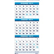 House of Doolittle™ 2015 Monthly, December-January, Blue Wall Calendar, 8 x 17