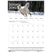 House of Doolittle™ 2015 , Monthly, January-December, Wildlife Wall Calendar, 15 1/2 x 22