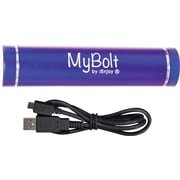 iEnjoy MyBolt Portable USB Flash Charger, Dark Blue