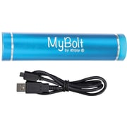 iEnjoy MyBolt Portable USB Flash Charger, Light Blue