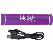 iEnjoy MyBolt Portable USB Flash Charger, Purple