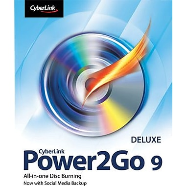 CyberLink Power2Go 9 Deluxe for Windows (1 User) [Download]