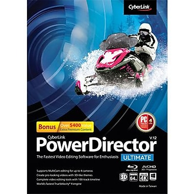 CyberLink PowerDirector 12 Ultimate for Windows (1 User) [Download]