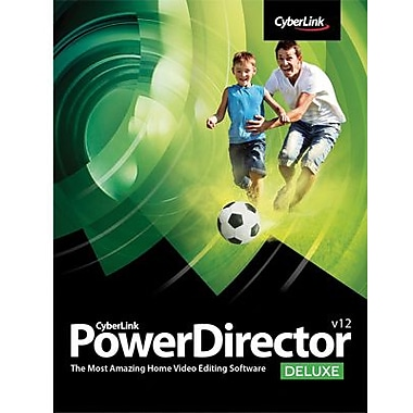 CyberLink PowerDirector 12 Deluxe for Windows (1 User) [Download]