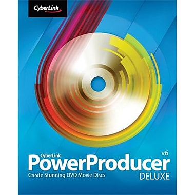 CyberLink PowerProducer 6 Deluxe for Windows (1-User) [Download]