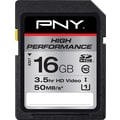 PNY High Performance 16GB SD (SDHC) Class 10 Flash Memory Card