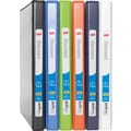 1/2in. Staples® Standard View Binder with Slant-D™ Rings