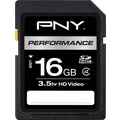 PNY Performance 16GB SD (SDHC) Class 4 Flash Memory Card