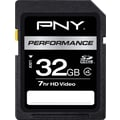 PNY Performance 32GB SD (SDHC) Class 4 Flash Memory Card