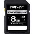 PNY Performance 8GB SD (SDHC) Class 4 Flash Memory Card