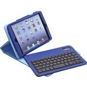 Aduro Facio Case with Bluetooth Removable Keyboard for iPad Mini, Blue/Turquoise