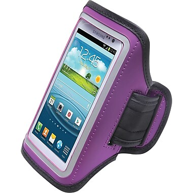 Aduro U-Band Sport Armband for Samsung Galaxy S3/S4, Purple