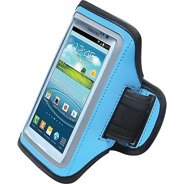 Aduro U-Band Sport Armband for Samsung Galaxy S3/S4, Turquoise