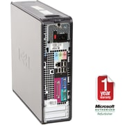 Refurbished Dell Optiplex 745, 160GB Hard Drive, 2GB Memory, Intel Core 2 Duo, Win 7 Home
