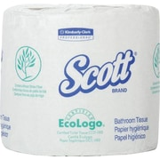 Scott® Bathroom Tissue, Standard Roll, 2-Ply, White, made with 20% Plant Fiber 80/CT