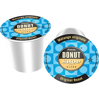 Authentic Donut Shop™ Original Roast Coffee, Single Serve Cups, 24/Pack