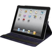 Natico 60-IM360-NBL Faux Leather Folio Case for Apple iPad Mini, Navy Blue
