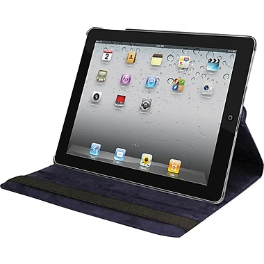 Natico Faux Leather Cover Case For iPad, Navy Blue