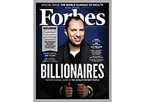 Forbes Magazine, 1 Year Subscription