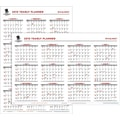 AT-A-GLANCE® 2015 Wounded Warrior Project® Erasable Wall Planner, January - December, , 24in. x 36in.