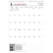2015 AT-A-GLANCE® Wounded Warrior Project® Wall Calendar, 12 x 17